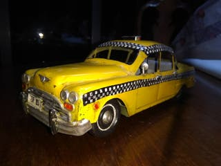 Taxi neoyorquino chapa