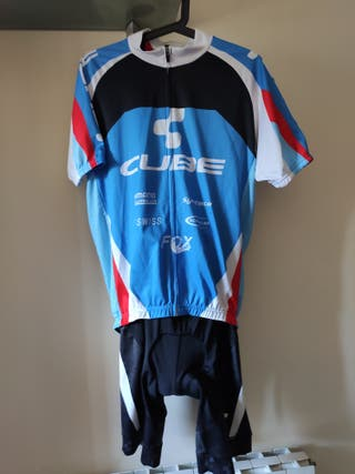 Maillot ciclismo y Culote Cube