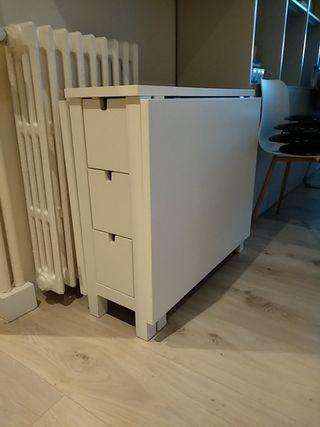 Mesa Ikea ala abatibles