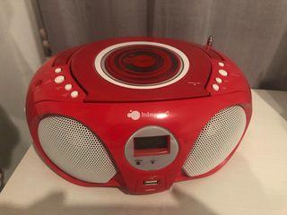 Reproductor CD y MP3 portátil para niños