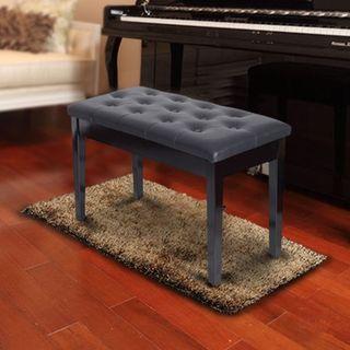 Banco de Piano tipo Taburete de Piel Banqueta