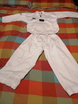 Traje Taekwondo (Dobok) Talla 110cm