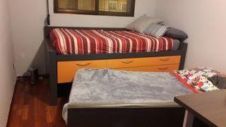 cama armario mesita