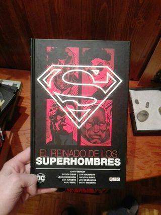 Cómics Superman/ trilogía de la muerte de Superman