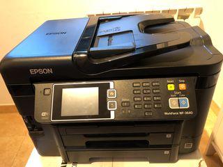 Impresora Epson WF 3640 conexión wifi