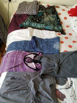 Lote ropa embarazada talla 42-42 y L.