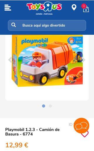 Camión basura Playmobil 123