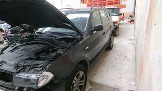 se vende despiece BMW x3 2000turbo diésel