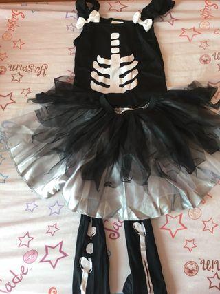 Disfraz esqueleto6-10