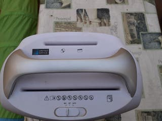 trituradora de papel y cd