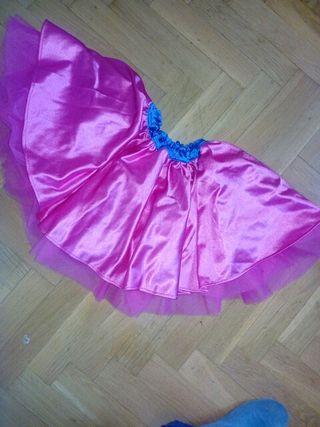 falda baile disfraz