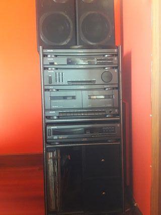torre de musica Philips FT 9410