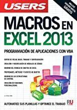 MACROS en EXCEL 2013 9789871857999