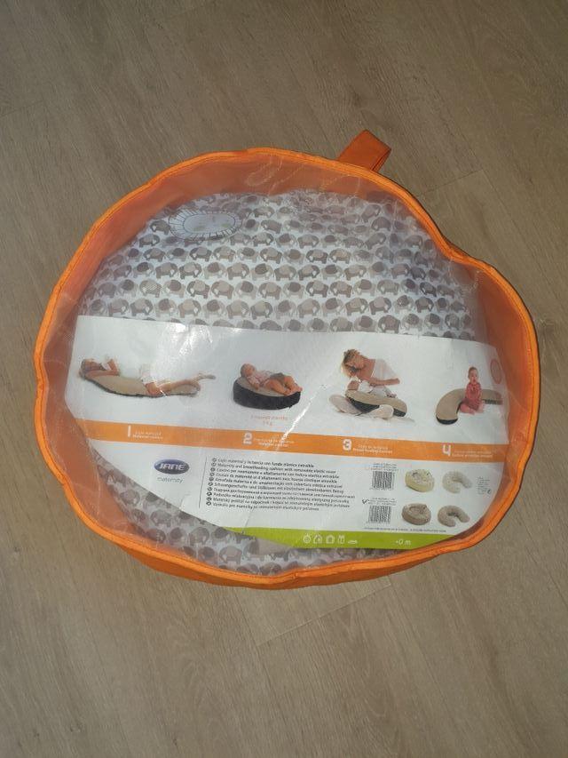 Cojín almohada maternal lactancia Jané 4 etapas