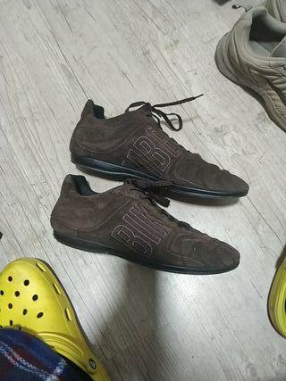 Zapatillas bikkembergs de vestir talla 43