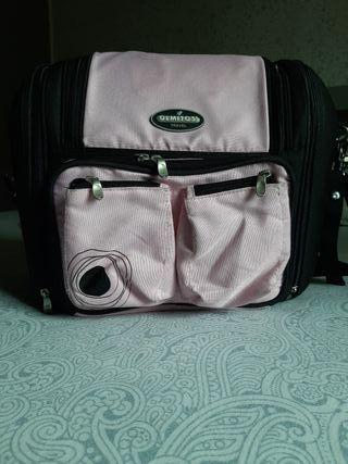Bolso Cambiador bebé color rosa
