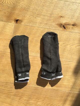 dos pares de calcetines nieve/ esqui