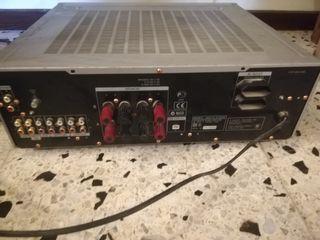 amplificador Sony hifi y altavoces Denon