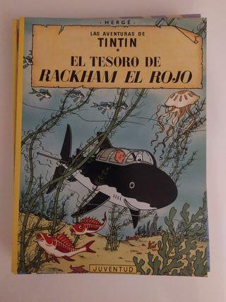 Lote comics Tintin. 7 comics.
