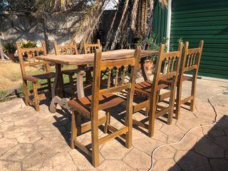 Mesa & 6 sillas