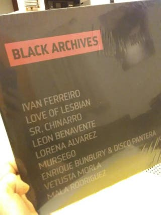 Vinilo Black Archives (Iván Ferreiro, Bunbury...