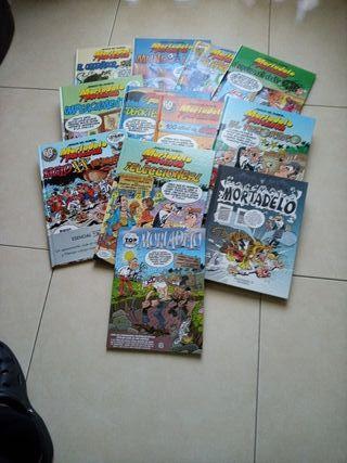 super lote de cómics Mortadelo y Filemón