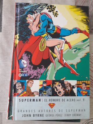 Comic Superman de John Byrne Vol 9