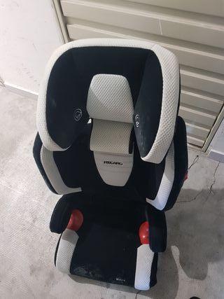silla de coche recaro con isofix