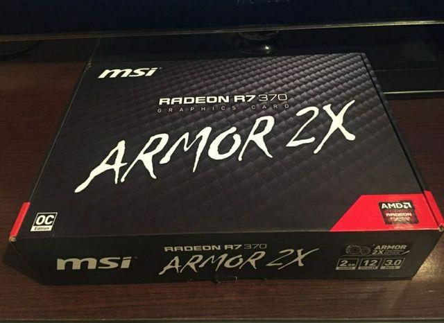 Tarjeta gráfica Msi Radeon R7 370 Armor 2X OC 2GB