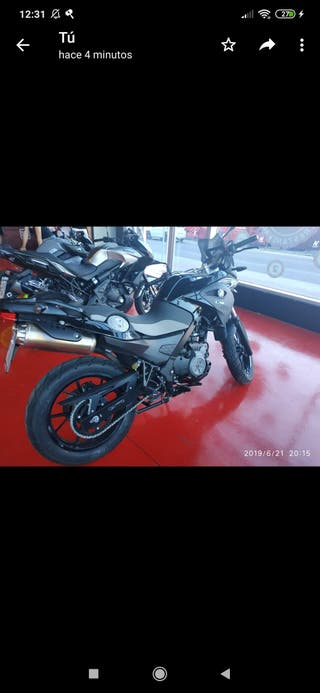 BMW G 650 GS 2015 17.000kms