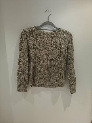 Sudadera leopardo de moda