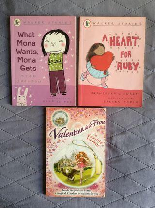 Set de libros infantiles en inglés (children books