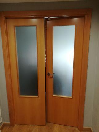 puerta de paso doble