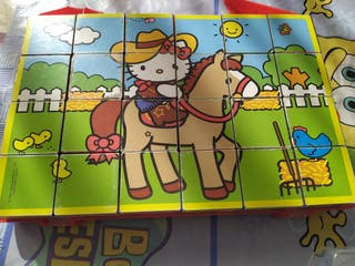 Puzzle Cubo 6x6 Hello Kitty