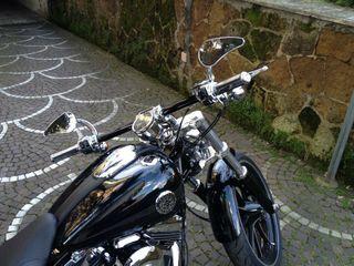 Espejos cromados para Harley Davidson