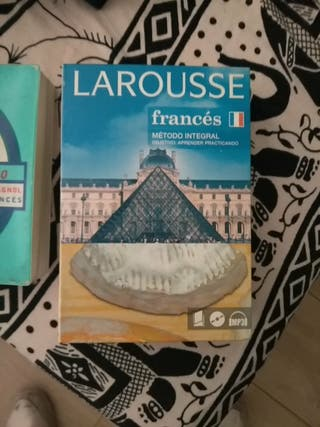 Libro y diccionario para aprender francés