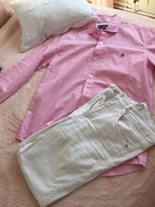 Camisa rosa Valecuatro