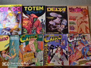 lote 8 cómics para adultos