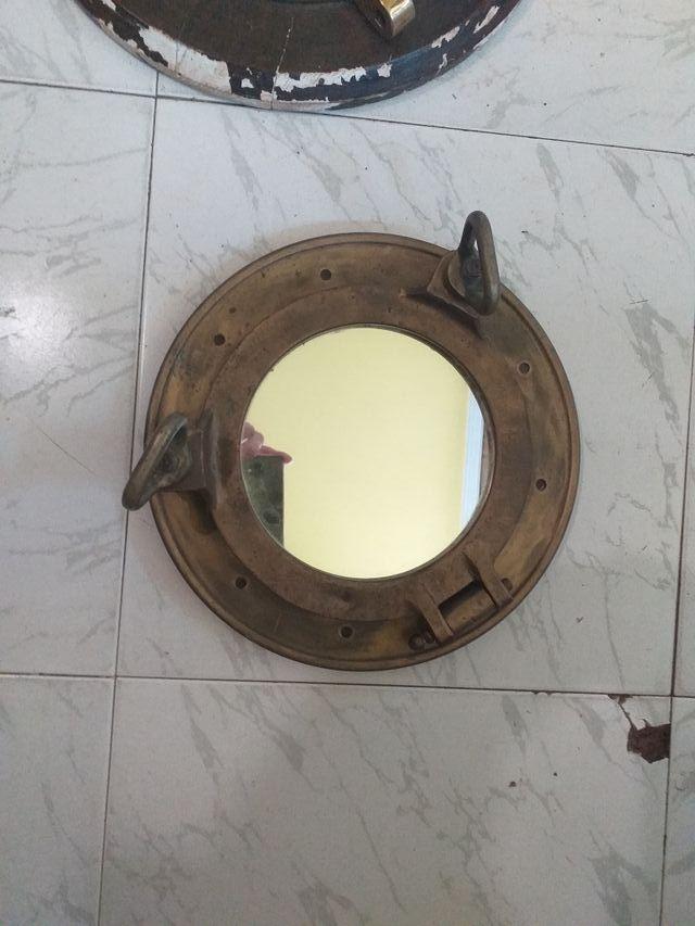 Ojo buey barco con espejo