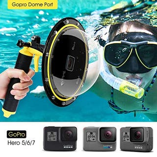 Dome GoPro Hero 5 6 7 con funda neopreno