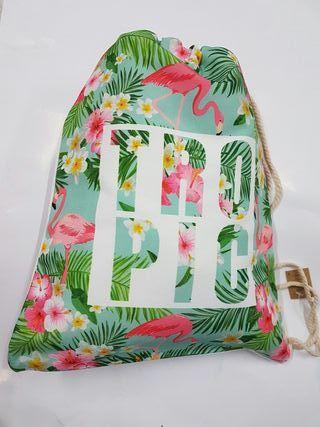 mochila de Cuerdas bolsa chica bolsas con Cuerdas