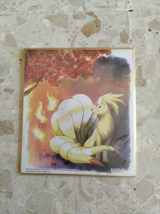 Pokemon Shikishi Art 1