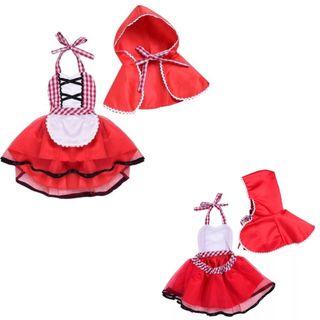 Disfraz Caperucita Roja niña bebé nuevo