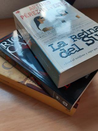 Tres novelas variadas: Reverte, Matilde Asensi,...