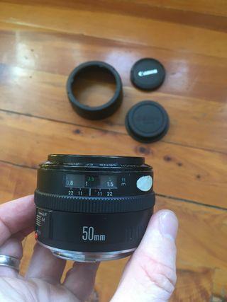 Objetivo Lente EF Canon 50mm 1,8 I