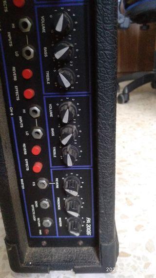 Amplificador Vox PA 200/6