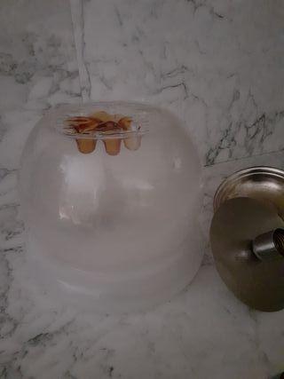 lámpara murano mazzega