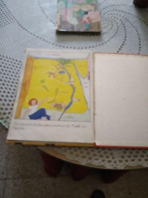 libro infantil antiguo único Noel viaja a Egipto