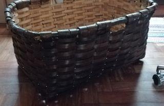 Gran cesta artesanal