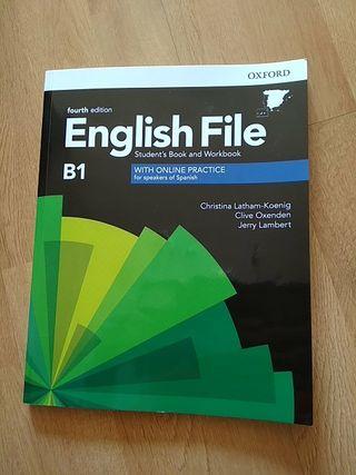Libro de inglés Oxford, nuevo, nivel B1